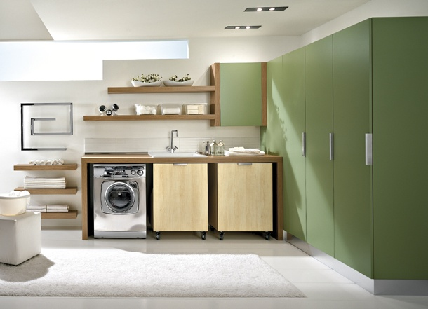 Modern Laundry Room Design and Furniture from Idea Group - DigsDi