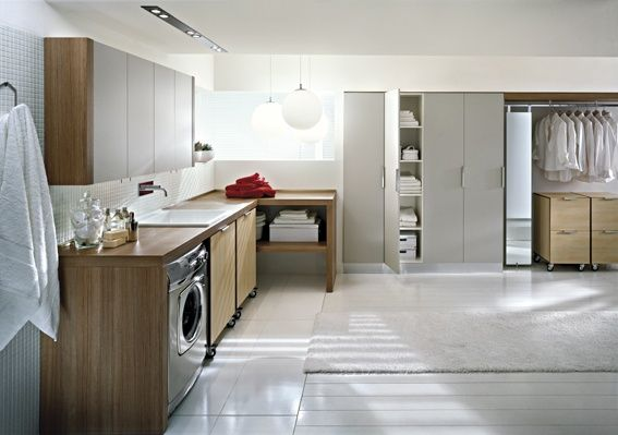 Modern Laundry Room Design and Furniture from Idea Group   Modern .