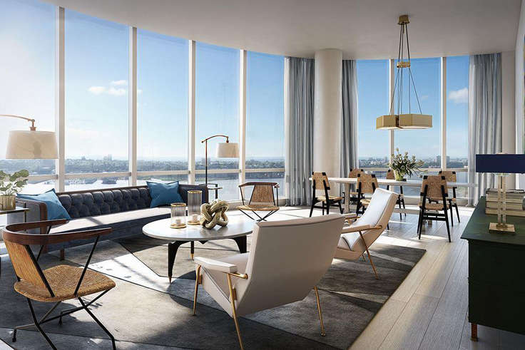 20 Spectacular New Penthouses in Manhattan Priced Below $11 .