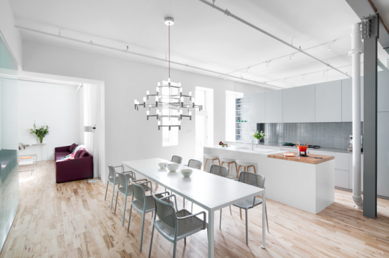 Modern Lively Apartment In An Industrial Building - DigsDi