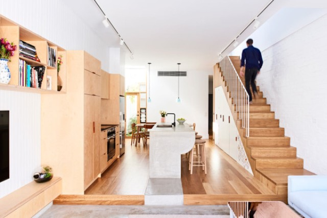 Modern Functional Home On A Narrow Lot - DigsDi