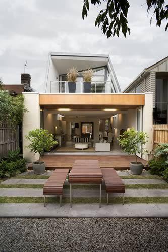modern backyard deck | Fancy House Road | Casas nuevas, Casas .
