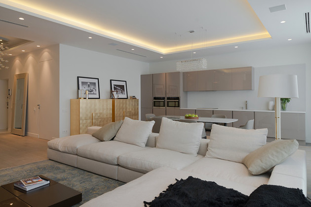 Modern Open Plan Apartment Pictures, Photos, and Images for .