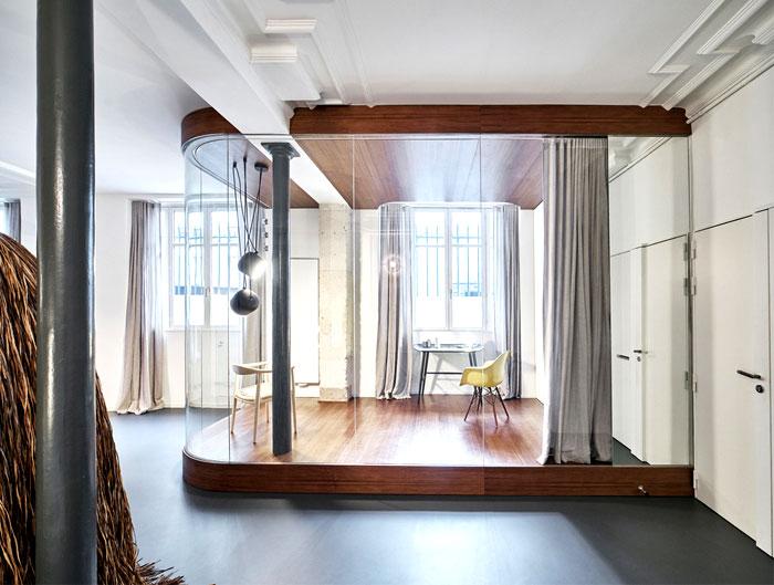 Parisian Apartment by CUT Architects are Unique and Memorable .
