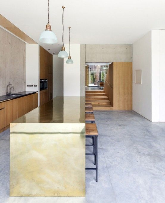 Modern Pear Tree House With Wood And Concrete In Decor | Modern .