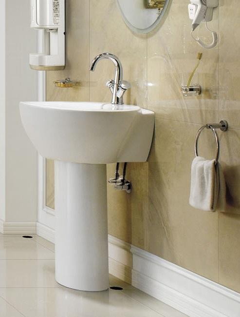 Modern Pedestal Sink - contemporary pedestal sink - Varaz