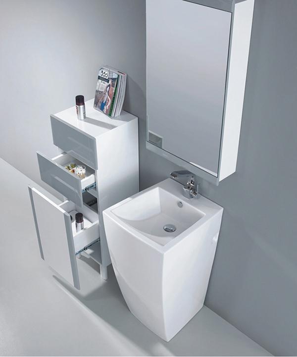 Modern Pedestal Sink - Alti