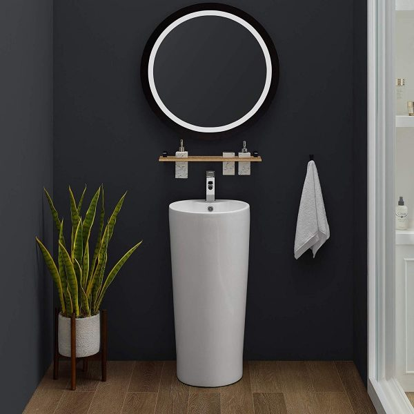54 Pedestal Sinks To Streamline Your Bathroom Desi