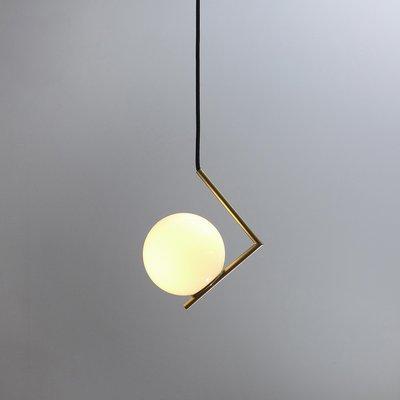 Minimal Modern Geometric Pendant Lamp from Balance Lamp for sale .