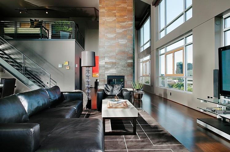 Modern Penthouse by Benning Design Associates | HomeAdo