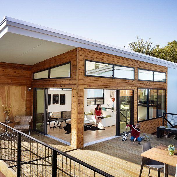 Luna | Modern prefab homes, Modern modular homes, Prefab hom