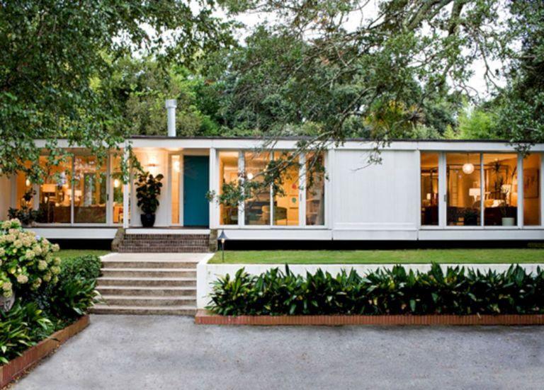 Mid Century Modern Prefab Homes | Modern house exterior, Mid .