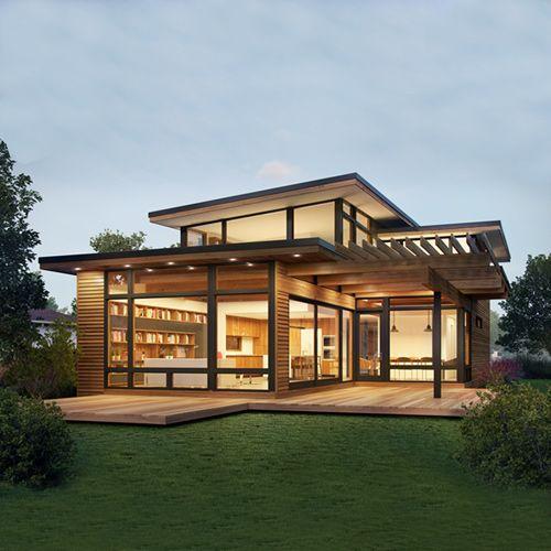 Axiom 2340 - Modern Prefab | Modern prefab homes, Prefabricated .