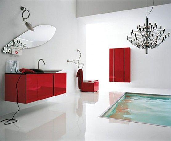 cool modern Bathroom | Contemporary bathroom designs, White .