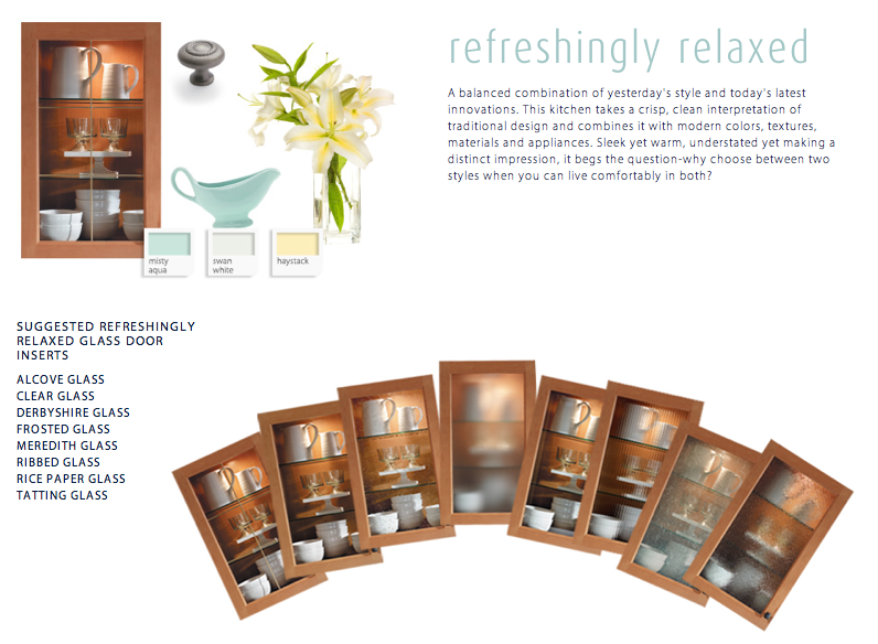 Refreshingly Relaxed Decorative Glass Inserts from Waypoint Living .