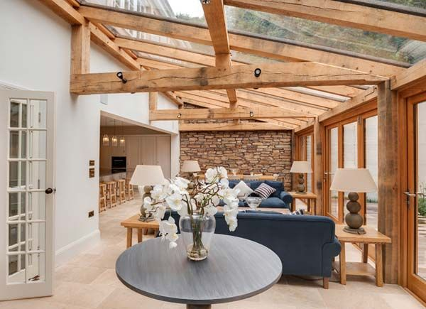 25+ Wonderful Ideas To Design Your Space With Exposed Wooden Beams .