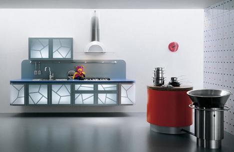 Modern Kitchens latest trend - La Cucina Alessi kitche