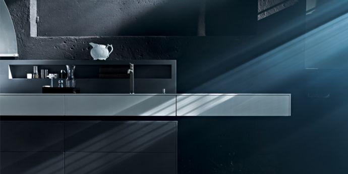 Dolmen - Modern and Rustic Kitchen Design by Valcucine - DigsDi