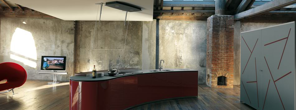 Modern Rustic Kitchen by Alessi - DigsDi