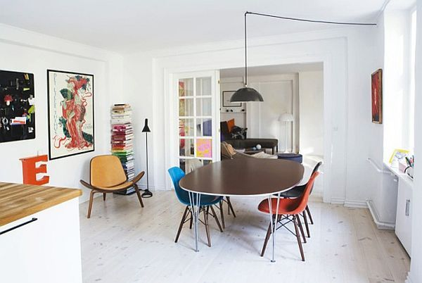 Colorful Scandinavian Apartment Perfect Designed For A Young .