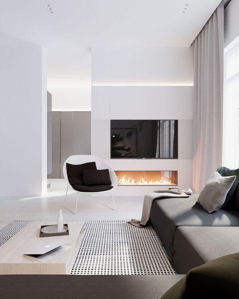 Binnenkijken in een modern interieur | Modern home interior design .