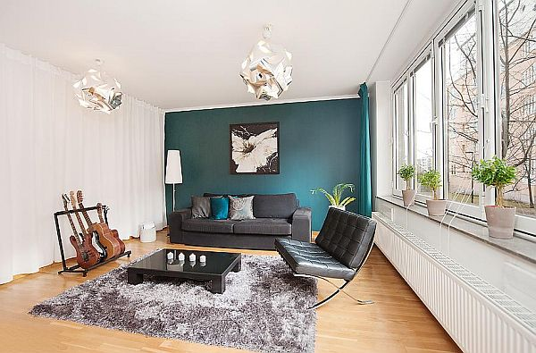71 sqm modern and stylish apartment in Stockho
