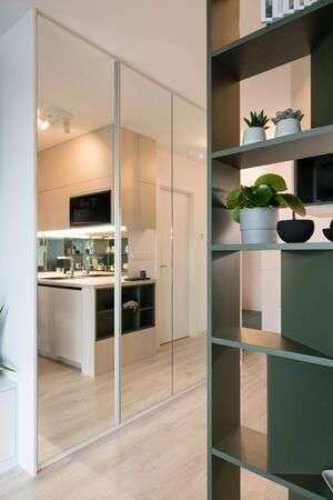 Interior Of Modern Stylish Apartment Stock Photo, Picture And .