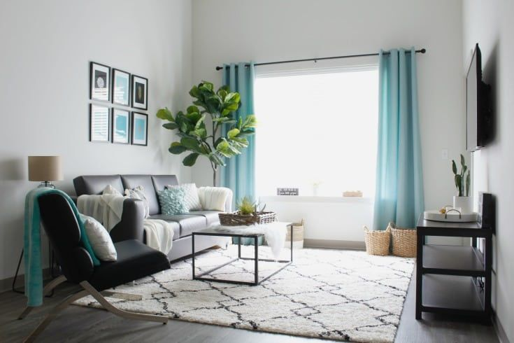 How to decorate a modern, stylish apartment on a budget! #modern .