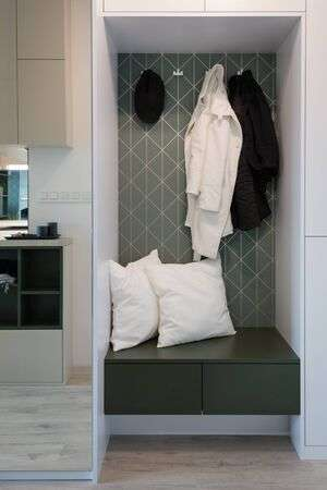 Hallway Of Modern Stylish Apartment Stock Photo, Picture And .
