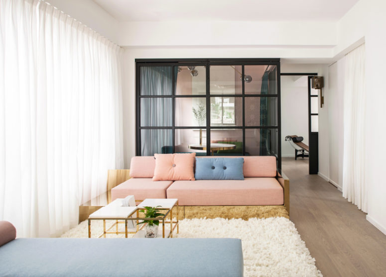 Modern And Stylish Apartment That Doubles As A Showroom - DigsDi