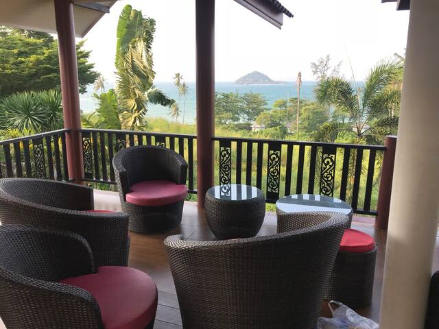 Modern Thai-Villa with sea-view - Houses for Rent in Ko Mak, Trat .