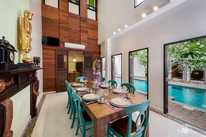 Modern Thai Villa+private pool + Airport transfer - Villas for .
