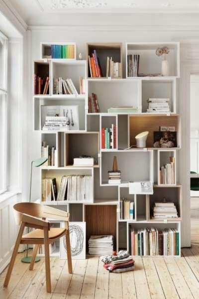 20+ Scandinavian Bookshelves Ideas for Your Cozy Living Room .