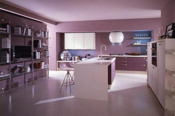 20 Modern Kitchen Color Schemes (With images) | Modern kitchen .
