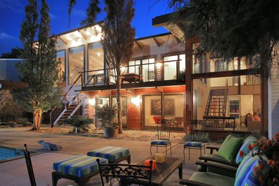 Modern Waterfront Home with Deep Water DocK & Spectacular .