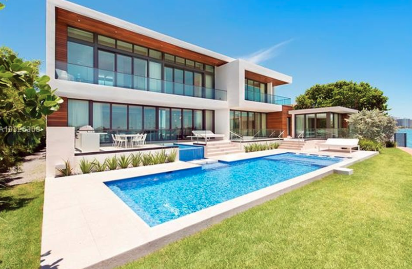 Newly Built Modern Waterfront Home In Miami Beach, Florida | Homes .