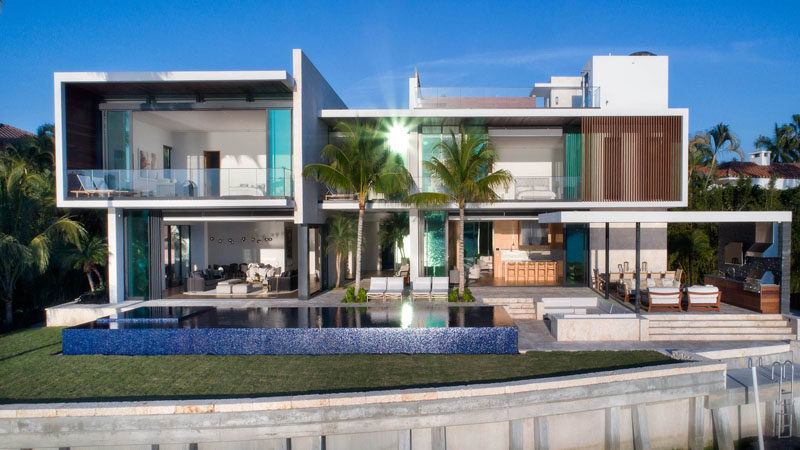 A New Modern Waterfront Home Arrives In Mia