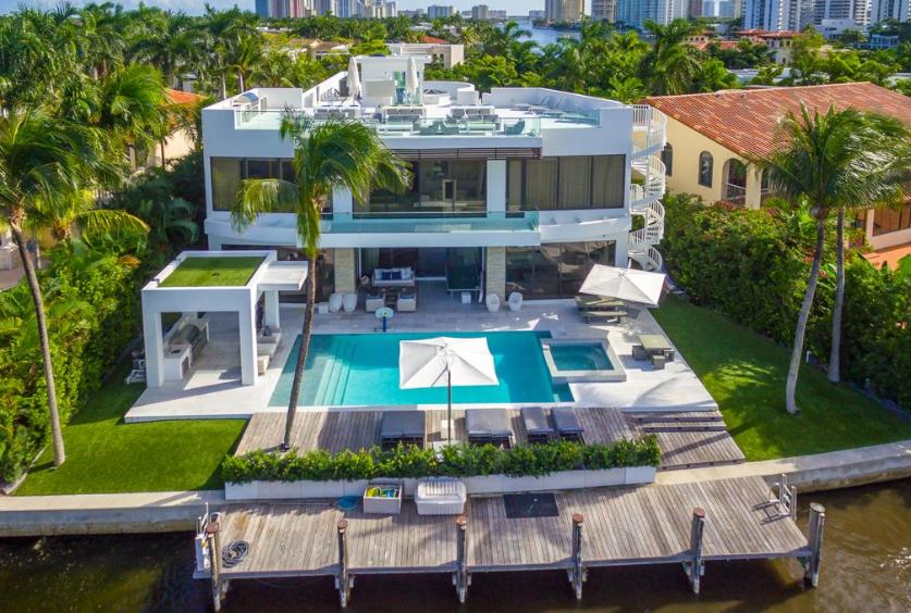 $10.9 Million Modern Waterfront Home In Golden Beach, FL | Homes .