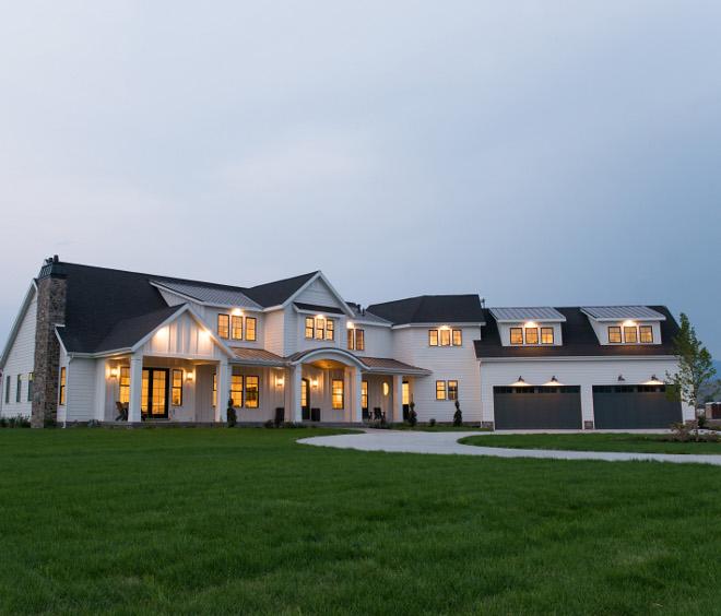 New Construction Modern Farmhouse Design - Home Bunch Interior .