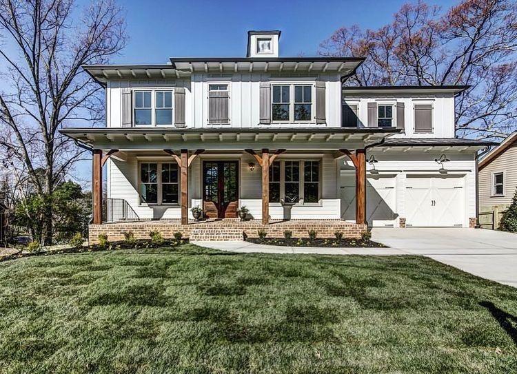 30+ Modern Farmhouse Exterior Designs | Modern farmhouse exterior .