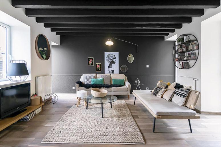 Renovated And Modernized 19th Century Home - DigsDi