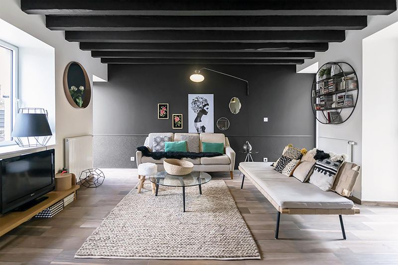 A renovated and modernized 19th century home in France - desire to .