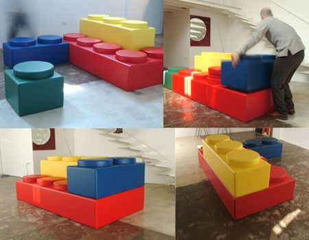 LEGO Just Got Stylish: Modular Furniture to Bring Out Your Inner .