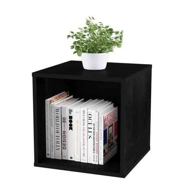 Shop Lavish Home Contemporary Minimalist Modular Cube Stackable .