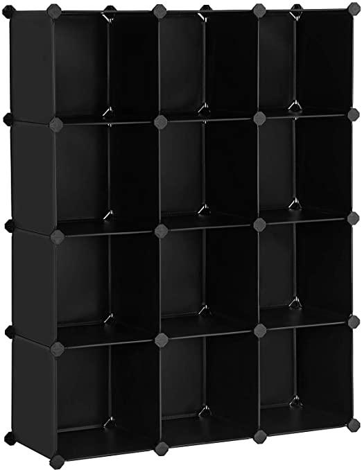 Amazon.com: SONGMICS Modular Storage Unit, Cube Storage, Storage .