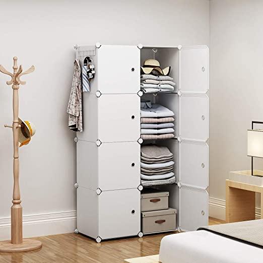 Amazon.com: YOZO Portable Wardrobe Closet Modular Dresser Chest .