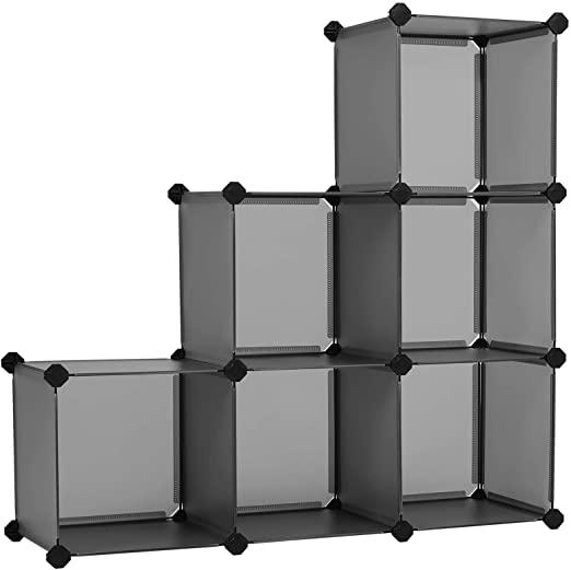 Amazon.com: SONGMICS Cube Storage Organizer, 6-Cube Bookshelf .