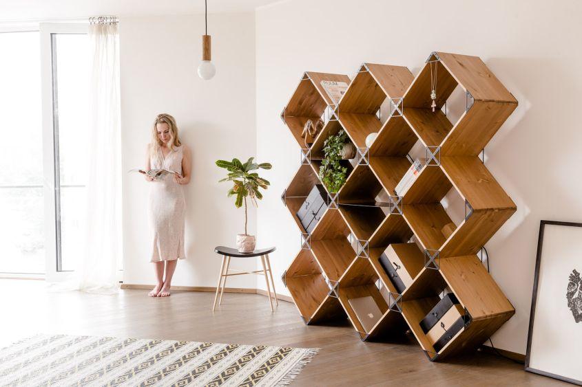 30 Best Modular Shelving Designs for Inspirati