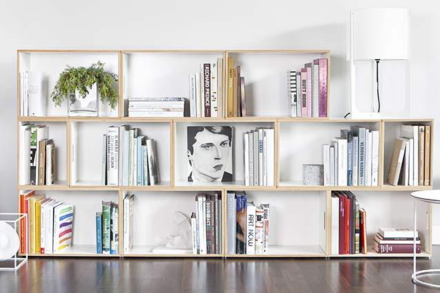 Modular shelf and bookcase - BrickBox Modular shelves and bookcas
