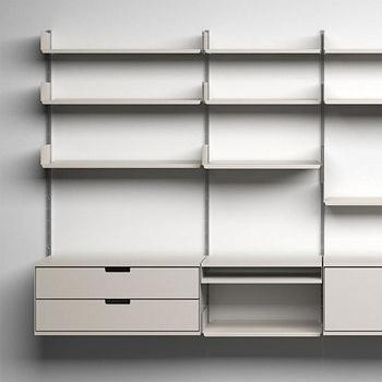 10 Easy Pieces: Wall-Mounted Shelving Systems - Gardenis